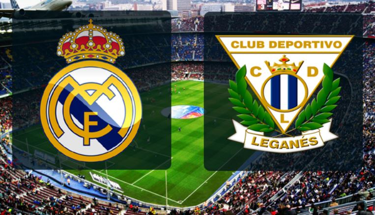 Leganes vs Real Madrid Live